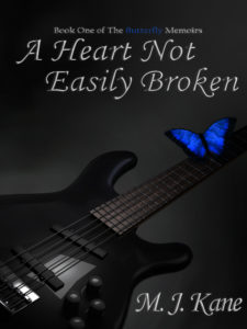 Cover Art for A Heart Not Easily Broken by M. J. Kane