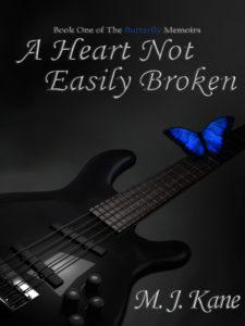 Cover Art for A Heart Not Easily Broken by M. J. Kane