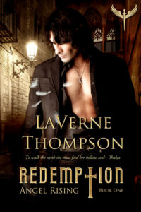 Cover Art for Angel Rising- Redemption by LaVerne Thompson