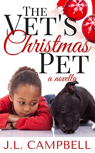 Cover Art for THE VET'S CHRISTMAS PET by JL Campbell