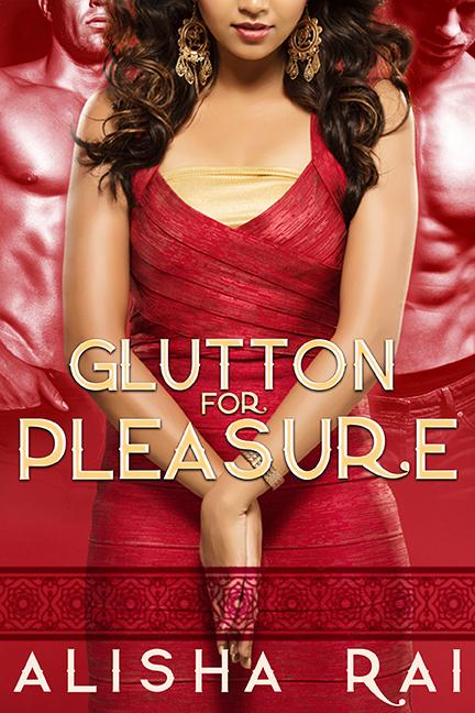 Cover Art for GLUTTON FOR PLEASURE by Alisha Rai