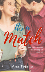 Cover Art for It's a Match by Ana Tejano