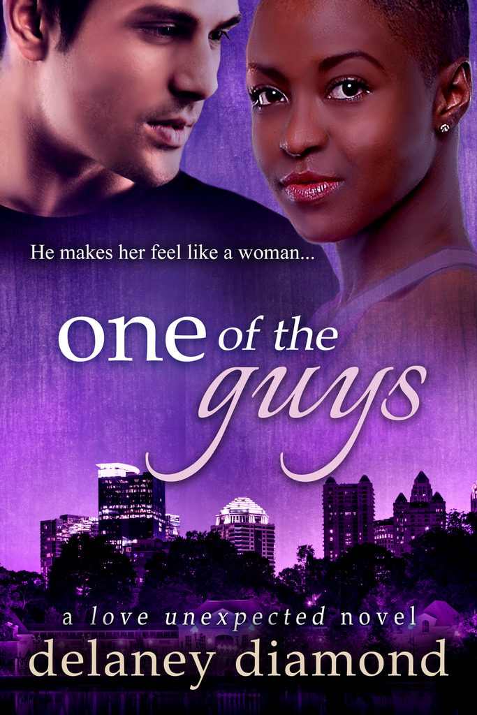 Cover Art for One of the Guys by Delaney Diamond