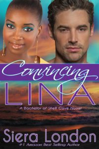 Cover Art for Convincing Lina: A Bachelor of Shell Cove Novel by Siera London