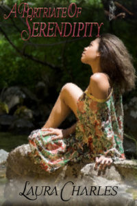 Cover Art for A Portrait of Serendipity by Laura Charles
