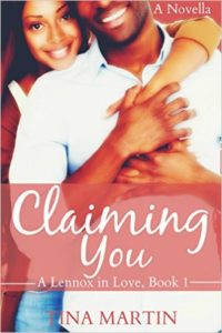 Cover Art for CLAIMING YOU by Tina Martin