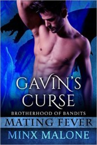 Cover Art for GAVIN'S CURSE by Minx Malone