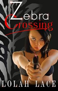 Cover Art for Zebra Crossing by Lolah Lace