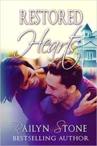 Cover Art for RESTORED HEARTS by Railyn Stone
