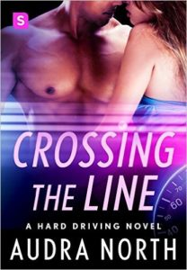Cover Art for CROSSING THE LINE by Audra North