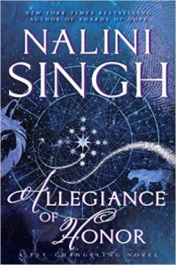 Cover Art for ALLEGIANCE OF HONOR by Nalini Singh