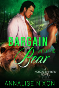 Cover Art for Bargain with the Bear by Annalise Nixon