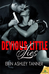 Cover Art for Devious Little Lies by Erin Tanner