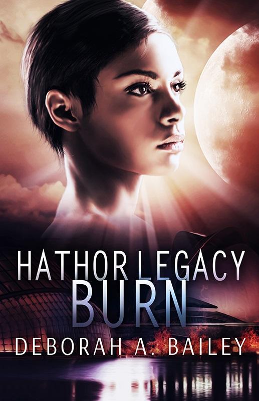 Cover Art for Hathor Legacy: Burn by Deborah Bailey