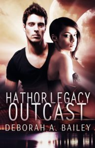 Cover Art for Hathor Legacy: Outcast by Deborah Bailey