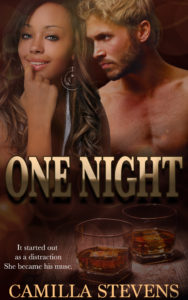 Cover Art for One Night by Camilla Stevens
