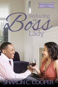 Cover Art for Seducing the Boss Lady by Sharon Cooper