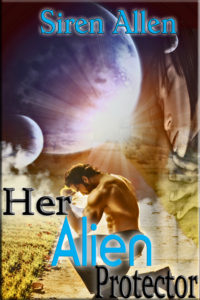 Cover Art for Her Alien Protector by Siren Allen
