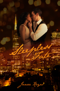 Cover Art for Sleepless Fate by Janae Keyes