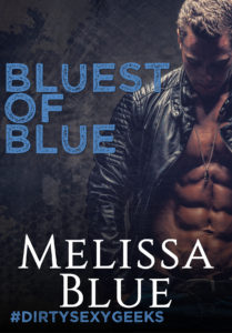 Cover Art for Bluest of Blue by Melissa Blue