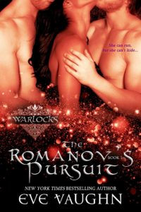 Cover Art for The Romanov's Pursuit by Eve Vaughn