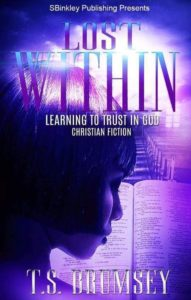 Cover Art for Lost Within: Learning to Trust in God by T.S. Brumsey