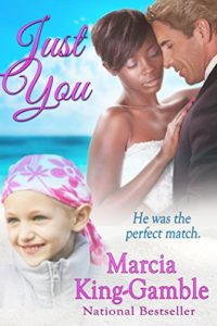 Cover Art for JUST YOU by Marcia King-Gamble