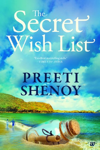 Cover Art for THE SECRET WISH LIST by Preeti Shenoy