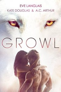 Cover Art for GROWL by A.C. Arthur