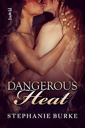 Cover Art for DANGEROUS HEAT by Stephanie Burke