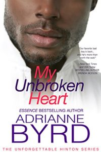 Cover Art for MY UNBROKEN HEART by Adrianne Byrd
