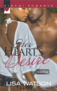 Cover Art for HER HEART'S DESIRE by Lisa Watson