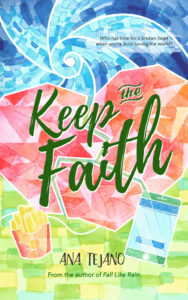 Cover Art for Keep the Faith by Ana Tejano