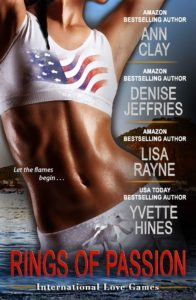 Cover Art for Rings of Passion: International Love Games by Lisa Rayne