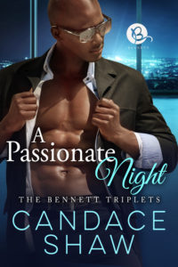 Cover Art for A Passionate Night by Candace Shaw