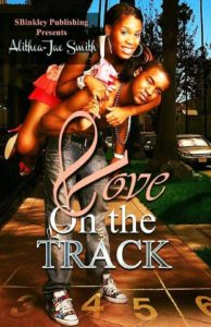 Cover Art for Love On The Track by Alithea-Jae Smith