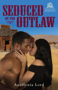 Cover Art for Seduced by the Outlaw by Apollonia Lord