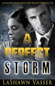Cover Art for A PERFECT STORM by LaShawn  Vasser