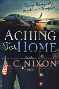 Cover Art for Aching for Home by A. C.  Nixon