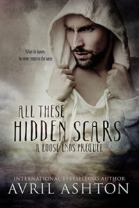 Cover Art for All These Hidden Scars by Avril Ashton