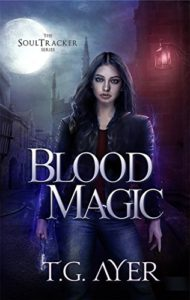 Cover Art for Blood Magic by T.G.  Ayer