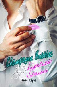 Cover Art for Champagne Bubbles and Lipstick Stains by Janae Keyes