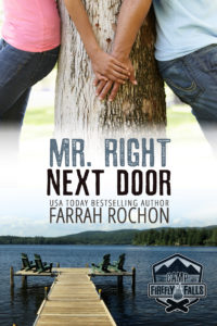 Cover Art for Mr. Right Next Door by Farrah Rochon