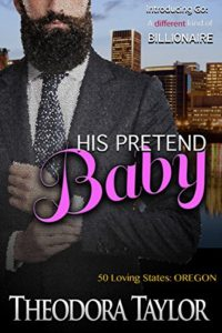 Cover Art for His Pretend Baby by Theodora Taylor