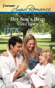 Cover Art for Her Son's Hero by Vicki Essex