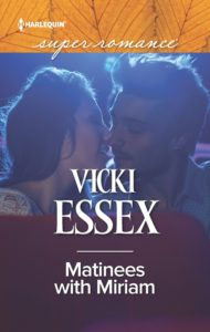 Cover Art for Matinees with Miriam by Vicki Essex