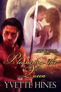 Cover Art for Pleasuring the Queen by Yvette Hines