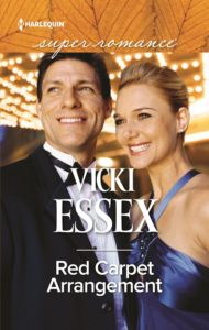 Cover Art for Red Carpet Arrangement by Vicki Essex