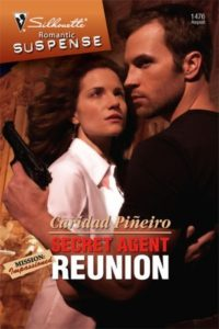Cover Art for Secret Agent Reunion by Caridad  Pineiro