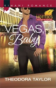 Cover Art for VEGAS, BABY by Theodora  Taylor